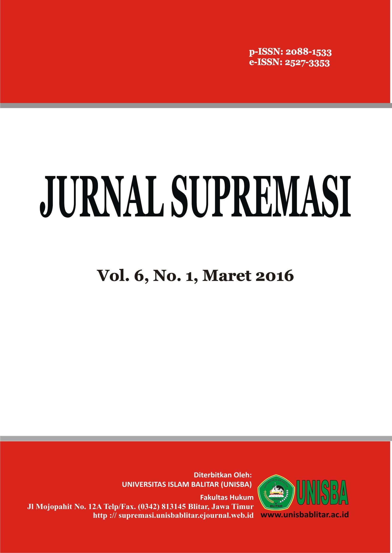 Volume 6 Nomor 1 Tahun 2016