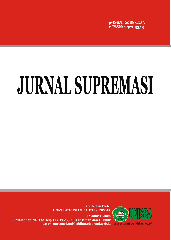 Jurnal Supremasi: Volume 8 Nomor 2 Tahun 2018