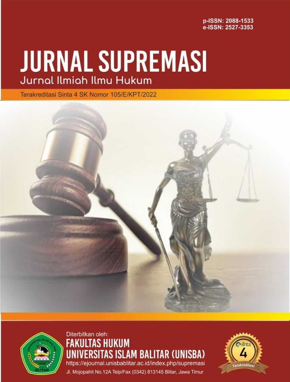 Jurnal Supremasi: Jurnal Ilmiah Ilmu Hukum